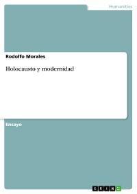 Cover Holocausto y modernidad