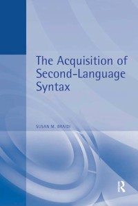 Cover Acquisition of Second Language Syntax