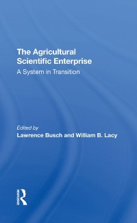 Cover Agricultural Scientific Enterprise