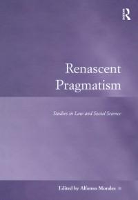 Cover Renascent Pragmatism