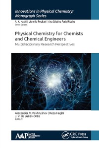 Cover Physical Chemistry for Chemists and Chemical Engineers