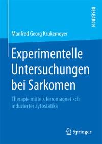 Cover Experimentelle Untersuchungen bei Sarkomen