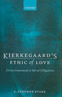 Cover Kierkegaard's Ethic of Love