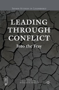 Cover Leading through Conflict