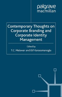 Cover Contemporary Thoughts on Corporate Branding and Corporate Identity Management