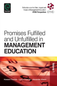 Cover Promises Fulfilled and Unfulfilled in Management Education