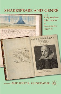 Cover Shakespeare and Genre
