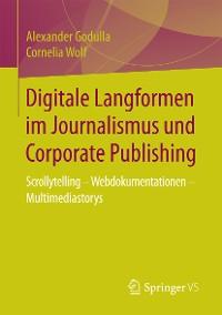 Cover Digitale Langformen im Journalismus und Corporate Publishing