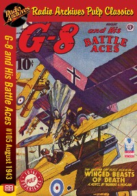 Cover G-8 and His Battle Aces #105 August 1943