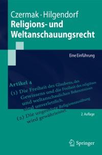 Cover Religions- und Weltanschauungsrecht