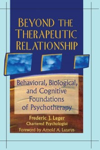 Cover Beyond the Therapeutic Relationship