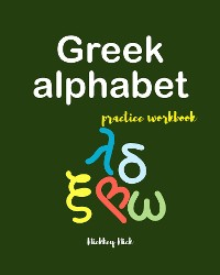 Cover Greek alphabet handwriting