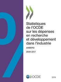 Cover Statistiques de l'OCDE sur les depenses en recherche et developpement dans l'industrie 2019 ANBERD