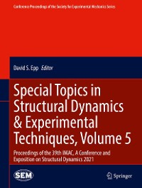 Cover Special Topics in Structural Dynamics & Experimental Techniques, Volume 5
