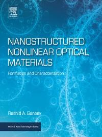 Cover Nanostructured Nonlinear Optical Materials