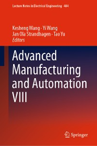 Cover Advanced Manufacturing and Automation VIII