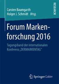 Cover Forum Markenforschung 2016