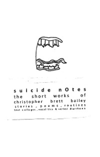 Cover suicide notes