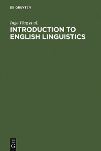 Cover Introduction to English Linguistics