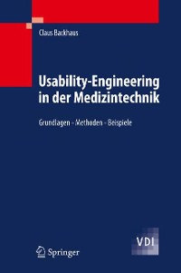 Cover Usability-Engineering in der Medizintechnik