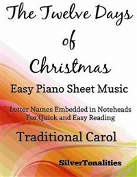 Cover The Twelve Days of Christmas Easy Piano Sheet Music