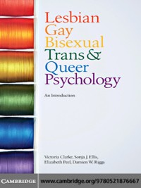 Cover Lesbian, Gay, Bisexual, Trans and Queer Psychology