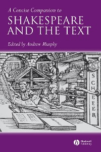 Cover A Concise Companion to Shakespeare and the Text