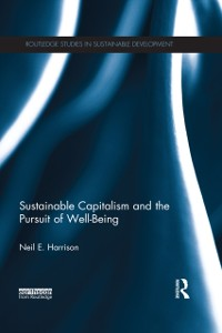 Cover Sustainable Capitalism and the Pursuit of Well-Being