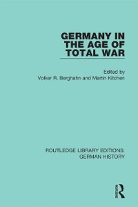 Cover Germany in the Age of Total War
