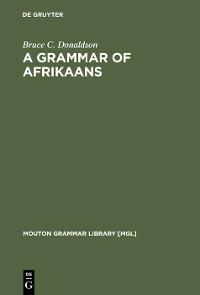 Cover A Grammar of Afrikaans