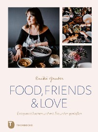 Cover Food, Friends & Love