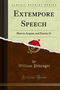 Cover Extempore Speech