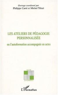 Cover LES ATELIERS DE PEDAGOGIE PERSONNALISEE