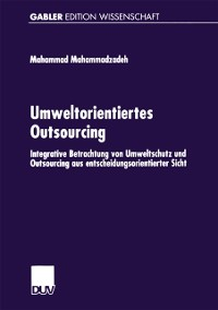 Cover Umweltorientiertes Outsourcing