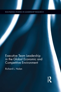 Cover Executive Team Leadership in the Global Economic and Competitive Environment