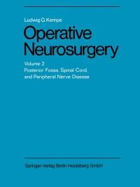 Cover Operative Neurosurgery