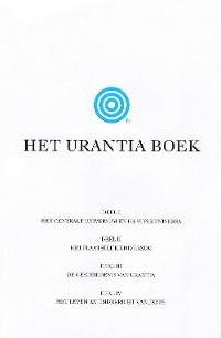 Cover Het Urantia Boek