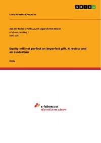 Cover Equity will not perfect an imperfect gift. A review and an evaluation