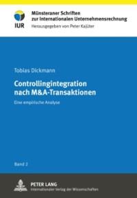 Cover Controllingintegration nach M&A-Transaktionen