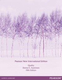 Cover Quality: Pearson New International Edition