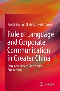 Cover Role of Language and Corporate Communication in Greater China