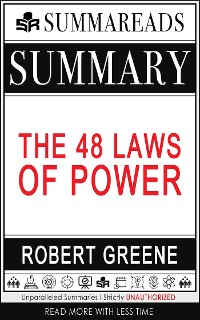 Cover Summary of The 48 Laws of Power by Robert Greene