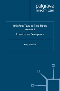 Cover Unit Root Tests in Time Series Volume 2