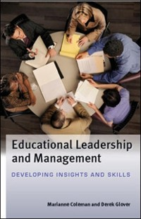 Cover EBOOK: Educational Leadership And Management: Developing Insights And Skills