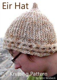 Cover Eir Short Row Hat Knitting Pattern