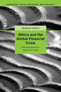 Cover Ethics and the Global Financial Crisis