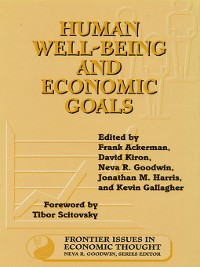 Cover Human Well-Being and Economic Goals