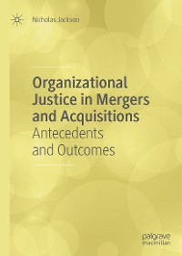 Cover Organizational Justice in Mergers and Acquisitions