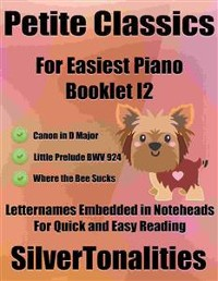 Cover Petite Classics for Easiest Piano Booklet I2