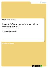 Cover Cultural Influences on Consumer Goods Marketing in China